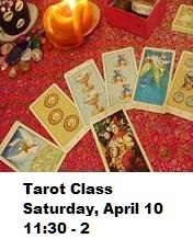 Tarot Class Saturday, June 0