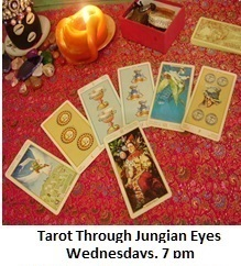 Jungian Tarot Wednesdays 7 pm